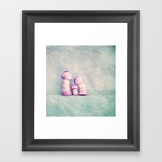 secure Framed Art Print