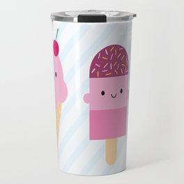 Summer Ice Cream Treats Travel Mug