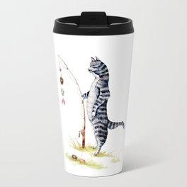 Gone Fish'en Travel Mug