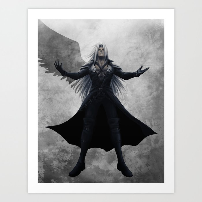 Ascension | Solo Sephiroth-one-winged-angel881979-prints