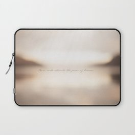 Never underestimate the power of dreams. Laptop Sleeve
