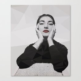 Geometric Callas Canvas Print