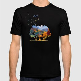 Autumn in the mountains T-shirt