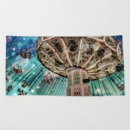 Dip Your Toes In the Stars Beach Towel