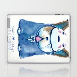 French B. Kaonashi Laptop & iPad Skin