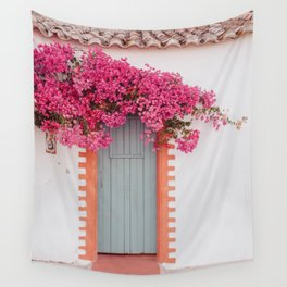 Summer Door Wall Tapestry