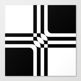 Black and white fantasy Canvas Print