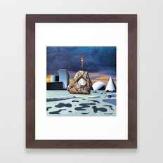 Salt Seeking Salt Framed Art Print