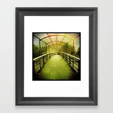 'CAGEWALK' Framed Art Print