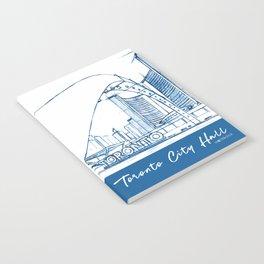 BluePrints | City Hall - Toronto Notebook
