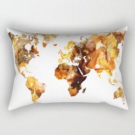 Design 102 World Map Rectangular Pillow