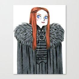 Lady Stark Canvas Print