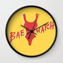 Bae-watch Wall Clock