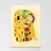 klimt Stationery Cards featuring Klimt muppets by tuditees