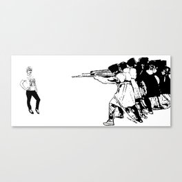 From Paris With Hatred Canvas Print