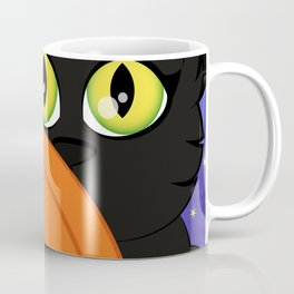 Cute Halloween Pumpkin Cat Coffee Mug