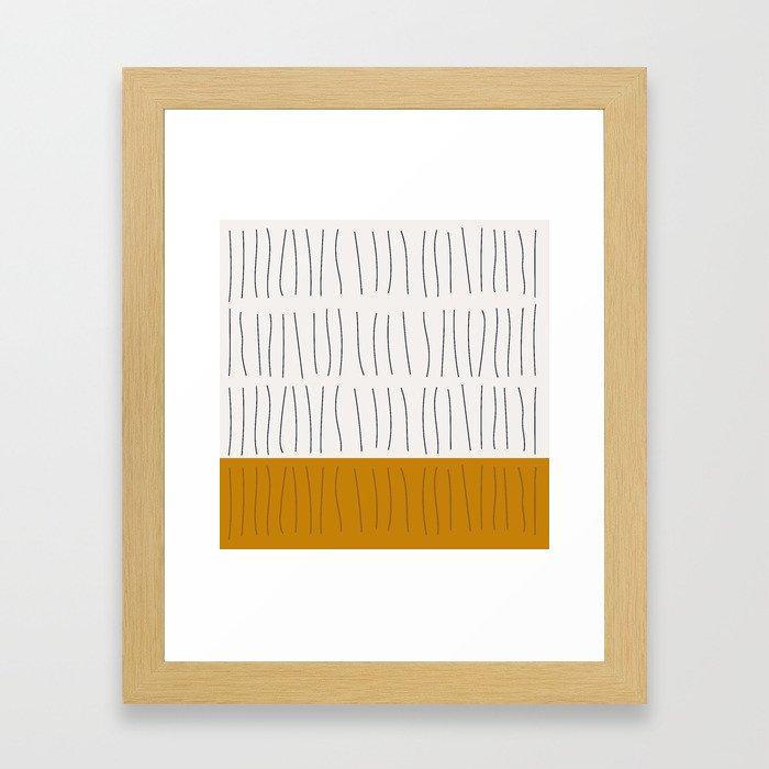 Coit Pattern 12 Framed Art Print