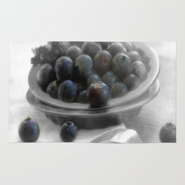 Fantastic blueberry pleasure Rug