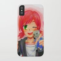 garrus iPhone & iPod Cases featuring Mass Effect - Shepard with Garrus Doll by Choco-Minto