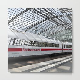White Train - Berlin Metal Print