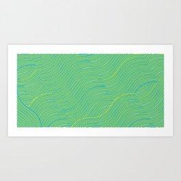 Obtuse Wave Art Print