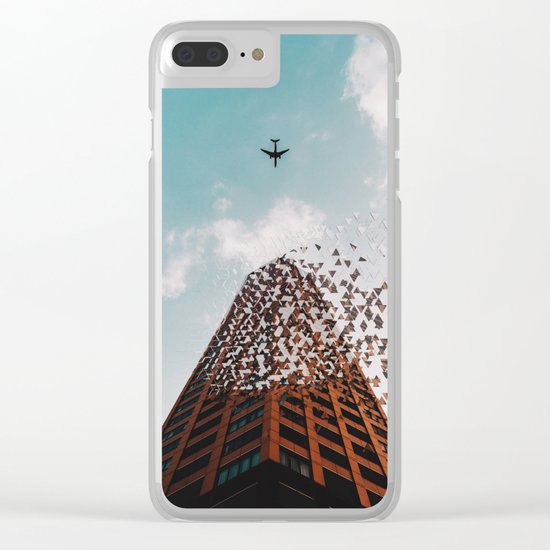 End of civilization Clear iPhone Case