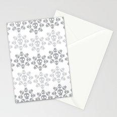 Skull Flowers Stationery Cards