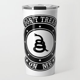 Don't Tread On Me Gadsden Travel Mug