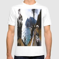 Soak Up The View Mens Fitted Tee White MEDIUM