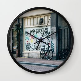 Streets of Amsterdam Wall Clock