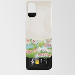 CottageCore Wildflower Landscape Android Card Case