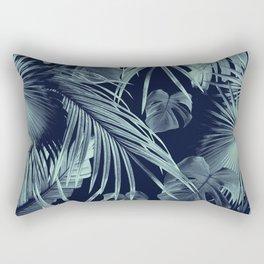 Tropical Jungle Leaves Dream #9 #tropical #decor #art #society6 Rectangular Pillow