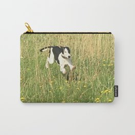Happiness is running wild and free, and not letting your feet touch the ground! Carry-All Pouch