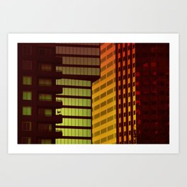 It's all Shapes and Colors - Downtown Los Angeles #68 Art Print