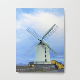 Blennerville Windmill, County Kerry, Ireland. Metal Print