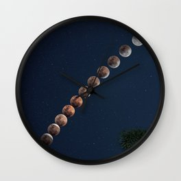 Eclipse Wall Clock