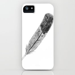 Lost in Flight iPhone Case