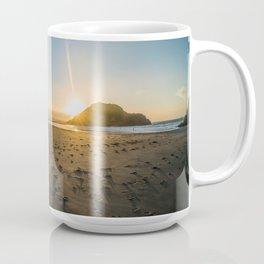 Back Beach Coffee Mug