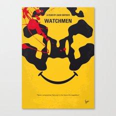 No599 My watch men minimal movie poster Canvas Print