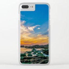 Low Tide Laguna Sunset Clear iPhone Case