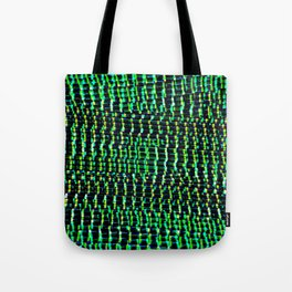 GREEN EYED STARE Tote Bag