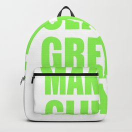 Make The Climate Great Again Backpack