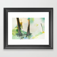 Gully Washer Framed Art Print