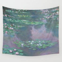 Water Lilies Monet 1905 Wall Tapestry
