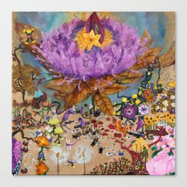 Flower Power (2017) Canvas Print