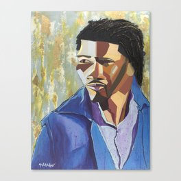 The Tribute Series-Mathew Ajibade Canvas Print