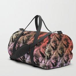 Limestone roses through rosy lenses Duffle Bag