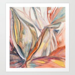 botanical inspiration 1 Art Print