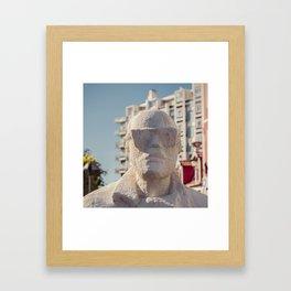 Homme Framed Art Print