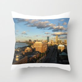"""""""And I've Never Been to Boston in the Fall""""  Throw Pillow"""